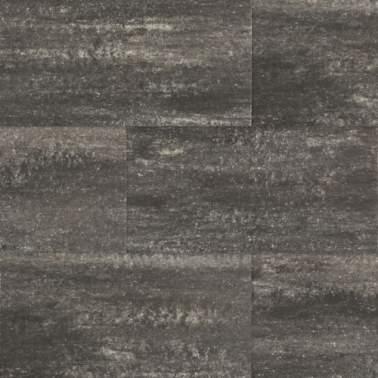60plus 50x100x4cm soft comfort zwart grijs