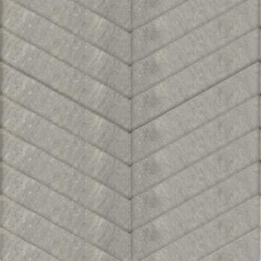 Romano Punto 40x8x8cm grezzo grijs zwart