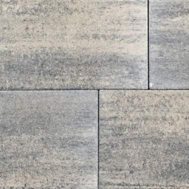 60plus 50x100x4cm soft comfort grezzo grijs zwart
