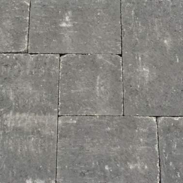 Abbeystones in wildverband 6cm nero antraciet