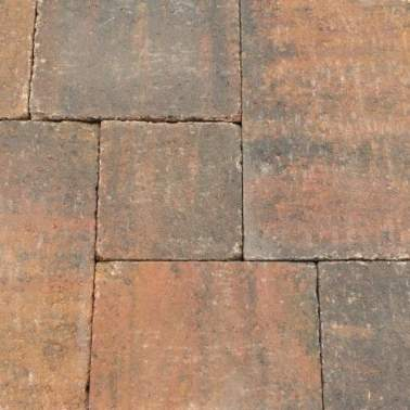 Abbeystones in wildverband 6cm zomerbont
