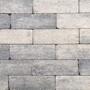 Romano Antico stapelblok 33x11x8cm grezzo grijs zwart