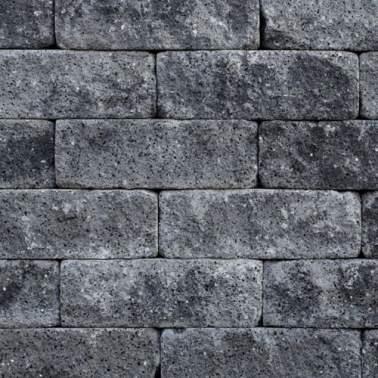 Catrock strak grijs zwart 31x11,5x10cm