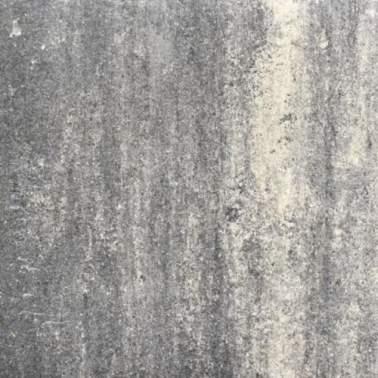 Terrastegel+ 60x60x4cm zwart grijs