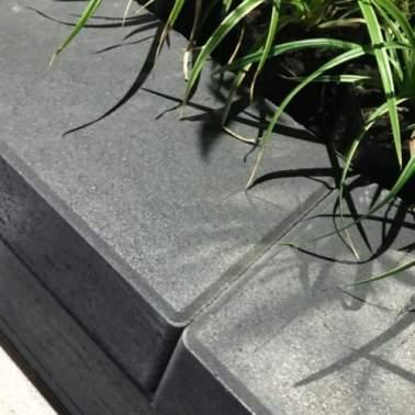 Multistone 12x20x65cm nero