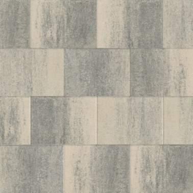 60plus 20x30x6cm soft comfort grezzo grijs zwart