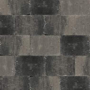 Abbeystone 30x40x6cm grijs zwart