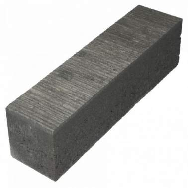 Linia Excellence Banda 15x15x60cm grijs zwart
