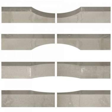 Linia Excellence Wave 15x15x60cm granietgrijs