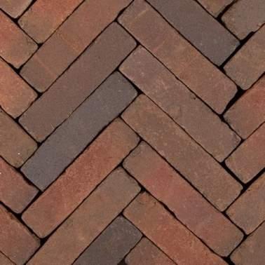 Gebakken waalformaat Art Bricks 20x5x6,5cm Bosch