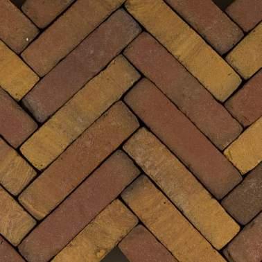 Gebakken waalformaat Art Bricks 20x5x6,5cm Ruijsdael