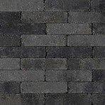 Trommel dikformaat 21x6,8x6cm grijs zwart