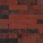 Trommel dikformaat 21x6,8x6cm rood zwart