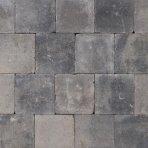 Abbeystone 20x20x6cm grijs zwart aanbieding