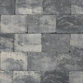 Abbeystone 20x30x5cm grijs zwart
