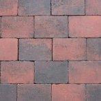Abbeystone 20x30x6cm rood zwart