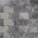 Koppelstones 21x14x6cm grijs zwart