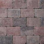 Koppelstones 21x14x6cm rood zwart aanbieding