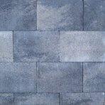 Opritstone 20x30x6cm grijs zwart