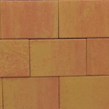 Terras-steen 20x30x4cm zalm geel aanbieding