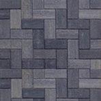 Betonklinker 21x10,5x6cm grijs zwart met deklaag