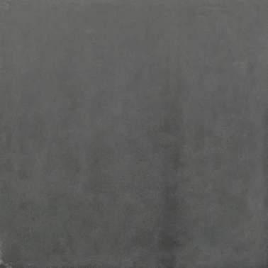 Betontegel 60x60x4cm zwart zonder facet
