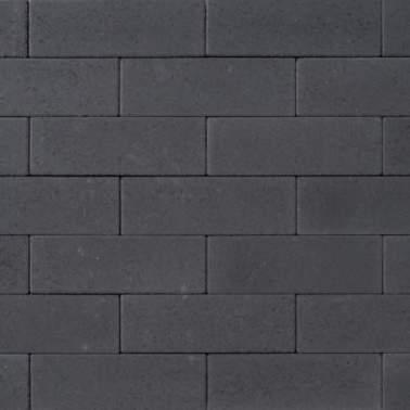 Romano 33x11x8cm nero antraciet