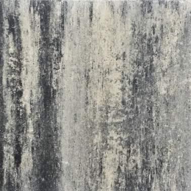 60plus 60x60x6cm soft comfort grezzo grijs zwart