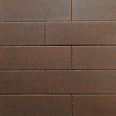 Romano's 33x11x8cm geborsteld gesmoord bruin