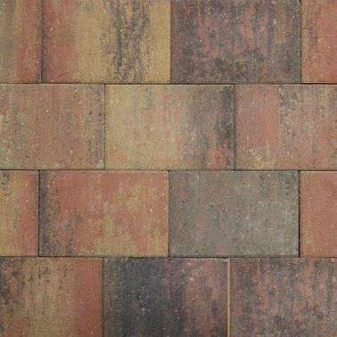 Straksteen 20x30x5cm bruin gv