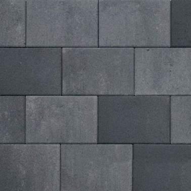 Straksteen 20x30x5cm grijs antraciet