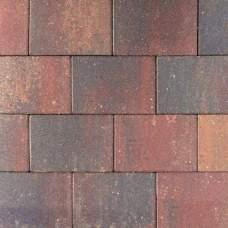 Straksteen 20x30x6cm paars gv