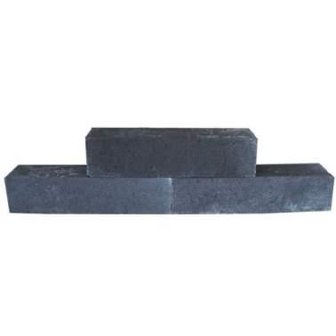 Stapelblok 12x12x60cm strak antraciet
