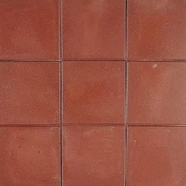Betontegel 30x30x4,5cm rood