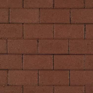 Halve betonklinker 10,5x10,5x8cm KOMO heidepaars met deklaag